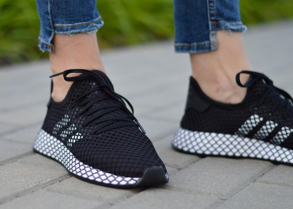 Détails sur Adidas Deerupt Runner J CG6840 Chaussures FemmesJunior